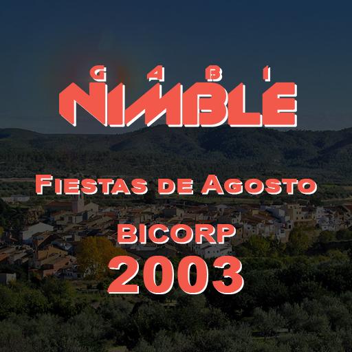 Portada-GABI-NIMBLE---Fiestas-de-Agosto-(Bicorp-2003)